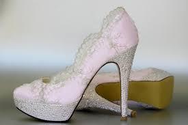 wedding shoes platform lace wedding shoes paradise pink platform wedding shoes with