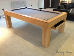 Smart Pool Table Solid Oak Pool Table And Converting Pool Dining Table From Uk
