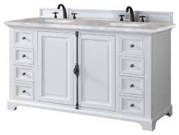 Double Vanity Cabinet Providence 60