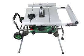 Contractor Table Saw Reviews Hitachi C10rj 10