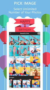 happy birthday video maker android apps on google play