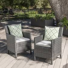 Wicker Patio Dining Sets Wicker Patio Dining Chairs You U0027ll Love Wayfair
