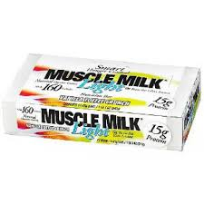 muscle milk light bars muscle milk light bar 12 45gr vanilla toffee