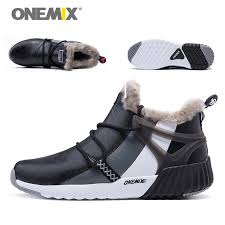 shoes s boots onemix winter s boots warm wool sneakers outdoor unisex