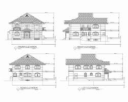 floor plans and elevations of houses new 2 story house floor plans and elevations house plan