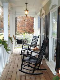White Patio Rocking Chair by Articles With Black Wood Outdoor Rocking Chair Tag Enchanting