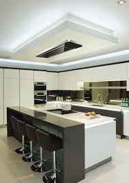 Kitchen Island Extractor Hood Air La90cosmicceilingblack 90 X 60cm Cosmic Ceiling Hood With