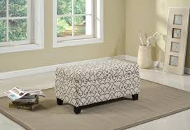 Fabric Storage Ottoman With Tray Ottomans Storage Ottoman Cube Big Lots Fabric Printed Printed