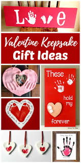 valentine keepsake gifts kids can make homemade birthdays and mom