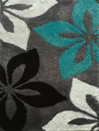 Area Rugs Turquoise Rug Factory Plus Lola Tufted Gray Turquoise Area Rug
