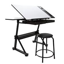 Desk With Drafting Table I Have This Table U0026 Absolutely Love It Invest In A Better Chair
