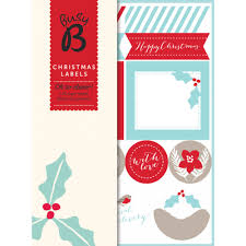 classic christmas gift labels british red cross gift shop