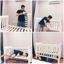 Cot Bed Nursery Furniture Sets by White Cot Beautiful Convertible Baby Nursery Furniture Online