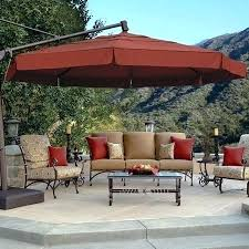 Offset Patio Umbrella With Base Treasure Garden Umbrella Base Hydraz Club