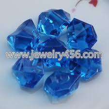 Vase Rocks Wholesaling Royal Blue Acrylic Ice Rocks For Vase Fillers Or Table