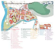 Ncsu Campus Map Nccu Campus Map Uptowncritters
