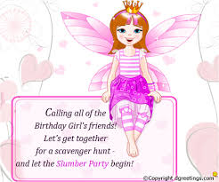 girls birthday invitation wording dgreetings com