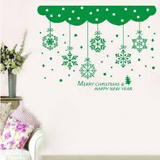 New Years Holiday Decorations by Aliexpress Com Buy Happy New Year Merry Christmas Snowflake
