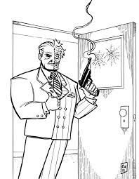 batman villains coloring pages for shimosoku biz