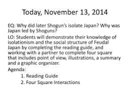 feudal japan worksheet