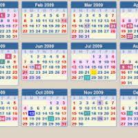 thanksgiving 2009 calendar date divascuisine