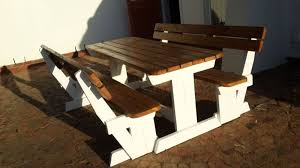 Woodworking Bench For Sale South Africa by Benches Picnic Benches U0026 Walk In Benches Outdoor Benches
