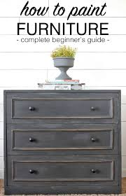 how to paint furniture a step by step beginner u0027s guide