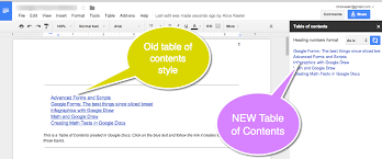 Google Docs Table Let U0027s