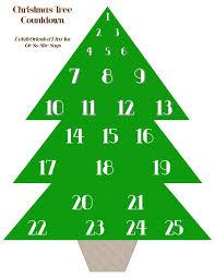 free christmas tree advent printable she natalie k or so she