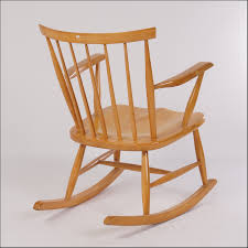 Rocking Chair Miami Mid Century Wood Rocking Chair Chair Home Furniture Ideas