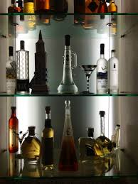 home bar shelves ideas superb restaurant bar glass shelves charming wooden home
