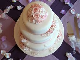 cake top pink roses wedding cake top view this is my weddin flickr