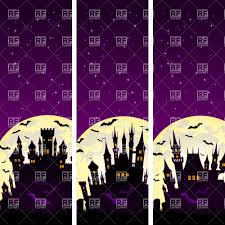 Halloween Banners by Collection Of Creepy Vertical Halloween Banners With Moon