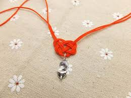 knot tie necklace images How to tie celtic heart knot jpg