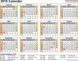 annual calendar template excel calendars as free printable