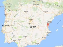 Almeria Spain Map by Interrail Spain Eurail Spain Your Essential Guide