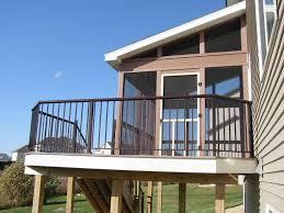 exterior fair exterior home design ideas with wood screened decks
