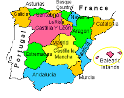 map of spain removals to spain moving to spain