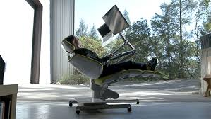 lay down computer desk altwork station computer desk costs 5 900 but lets you work lying