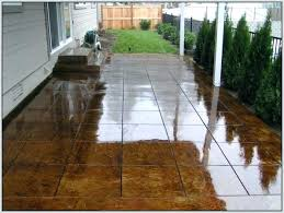 painted concrete patio floor ideas painting outdoor concrete