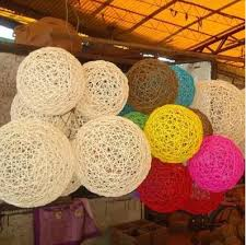 photography props for sale hot sale 12 inch 30cm colorful rattan diy home wedding store