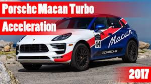 Porsche Macan Red - porsche macan turbo 2017 acceleration test 0 200 km h youtube