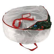 Christmas Ornament Storage Ebay wreath storage bag ebay
