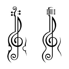 guitar coloring pages to print violin and guitar treble clef coloring page violin and guitar
