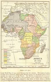 africa map answers imperialism africa in 1914 choice map questions