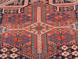 Red Tribal Rug Kazak Antique Rugs Vintage Persian Rugs