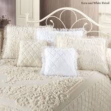 lilian cotton chenille bedspread bedding