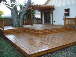 Pergola Deck Designs by Best 25 Low Deck Designs Ideas On Pinterest Low Deck Backyard