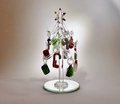 christmaslandia glass christmas trees