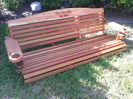 Cool Furniture Ideas by Furniture Cool Redwood Porch Swings For Outdoor Furniture Ideas